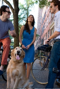 At a photo shoot in New York City