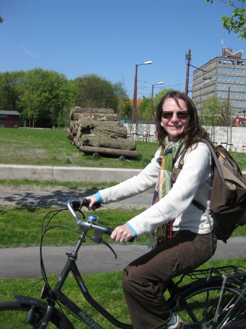 Melissa biking