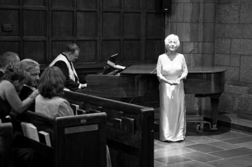 My grandma singing Ave Maria